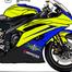 Motorcycle Race schene
