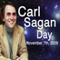 Mobile record: 11/07/2009 09:23 AM #carlsaganday