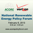 Opening Keynote and The State of Renewable Energy In America