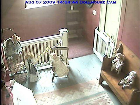 Haunted Doll House Cam On Ustream This Cam With Audio