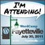 webcasting live WordCamp #wcfay channel is back on, tune in @dgold WordPress Jane Wells
