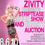 Zivity Striptease Fashion Show and Charity Auction