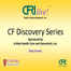 CFRI Live CF Discovery Series