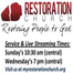 Restoration Church Saint Peters Missouri