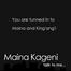Maina and Kingangi in the Morning