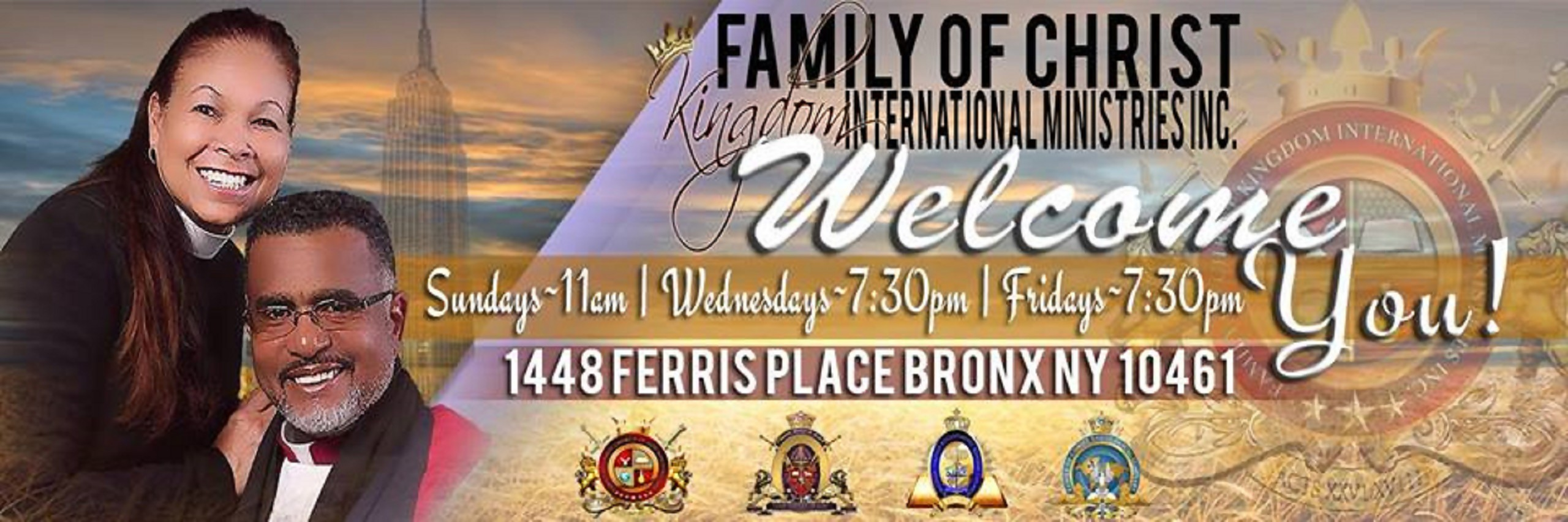 Family Of Christ Kingdom Sunday Services