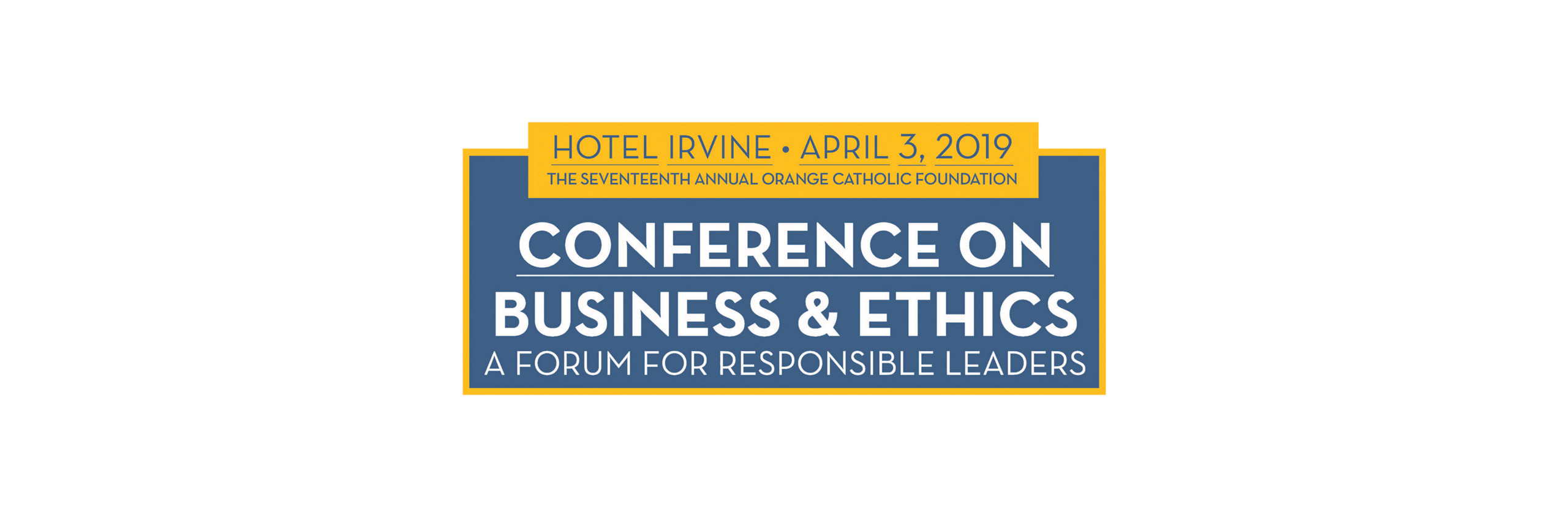 2017 Conference on Business & Ethics