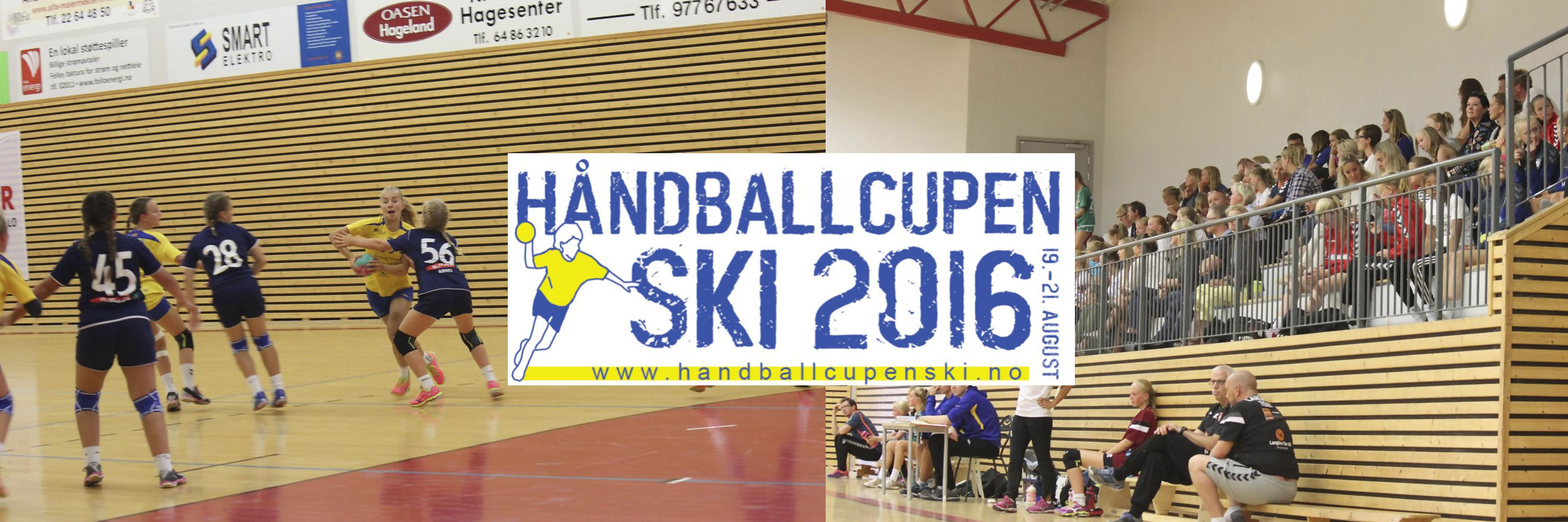 Håndballcupen Ski 2016 Live streaming