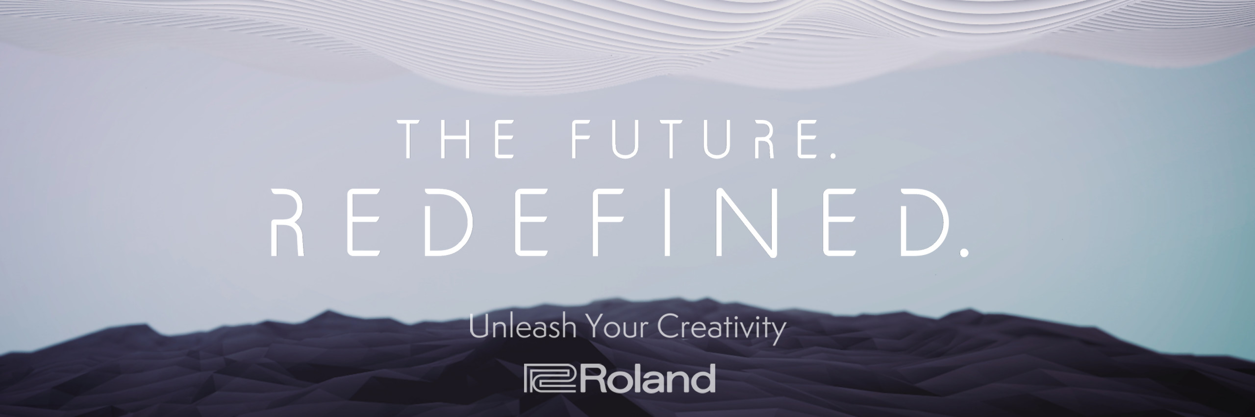"Roland ""The Future. Redefined."""
