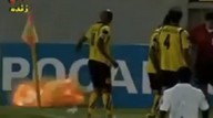 Explosive soccer action