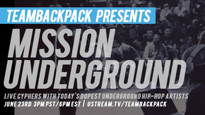 Team Backpack Presents: Mission Underground