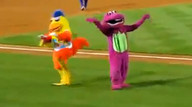 A Mascot battle for the ages