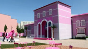 Protest against Barbie Dreamhouse in Berlin