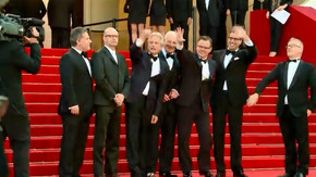 Cannes red carpet: Soderbergh's 'Behind the Candelabra'