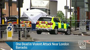 Man dead in London in possible 'terror incident'