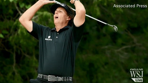 Brutally rough U.S. Open eludes Mickelson again