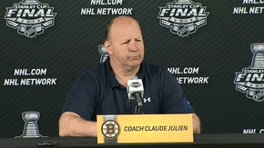 Julien talks Stanley Cup Final