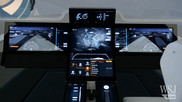 Flying a plane with a touch-screen tablet