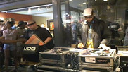 RZA takes over the turntables at Delicious Vinyl
