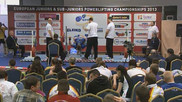 European Open Powerlifting Championships 2013