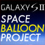 GALAXY SII - SPACE BALLOON LIVE!