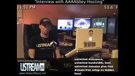 """Interview with AAAAbbey hosting"""