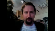 Tom Green visits Atlantic Records in NYC