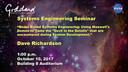 NASA GSFC SE Seminar October 10, 2017