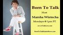 Athlete Anthony Free-Man on Born To Talk w' Marsha Wietecha 01-01-18