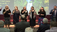 Sept 09 PM - Dorel, Emanuel, Costica A, Lucie,Gabi, Lidia & John U, Lidia S