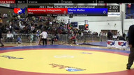 Dave Schultz Women's Freestyle Session 1 Mat 3 Part 2