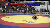 Dave Schultz Women's Freestyle Session 2 Mat 3 Consolations