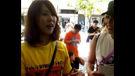 Eriya interview with a perfonmance group from Japan CH2 2011 Honolulu Festival 03/13/11 13:53HST