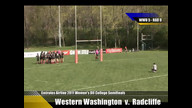 Emirates Airline USA Rugby 2011 Division II College Rugby Championships: Western Washington v. Radcl