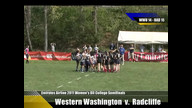 Emirates Airline USA Rugby 2011 Division II College Rugby Championships  Western Washington v. Radcl