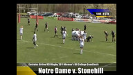 Emirates Airline USA Rugby 2011 Division II College Rugby Championships  Notre Dame v. Stonehill