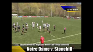 Emirates Airline USA Rugby 2011 Division II College Rugby Championships: Notre Dame v. Stonehill