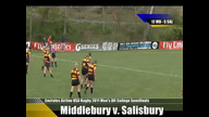 Emirates Airline USA Rugby 2011 Division II College Rugby Championships  Middlebury v. Salisbury