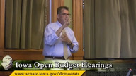 Open Budget Hearings Part Two