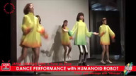 DANCE PERFORMANCE with HUMANOID ROBOT