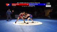 2011 Cadet Greco-Roman 3rd Place Matches