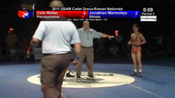 2011 Cadet Greco-Roman 5th Place Matches