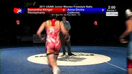 2011 Junior Women's Freestyle Fifth Place Matches