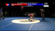 2011 Cadet Freestyle Fifth Place Matches