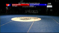 2011 USA Wrestling Junior Freestyle 5th Place Matches