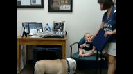 Baby Bro Terrorizes Blue II's Office