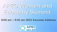 APEC Women in the Economy Summit 09/16/11 09:46AM