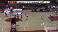 Wittenberg Volleyball vs. Bluffton - 9/17/11