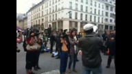 ACAMPADA DEMOCRACIA REAL PARIS 09/21/11 10:39AM