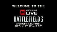 Battlefield 3 Kick-Off w/ Respawn @ Machinima Game 10/25/11 11:34AM